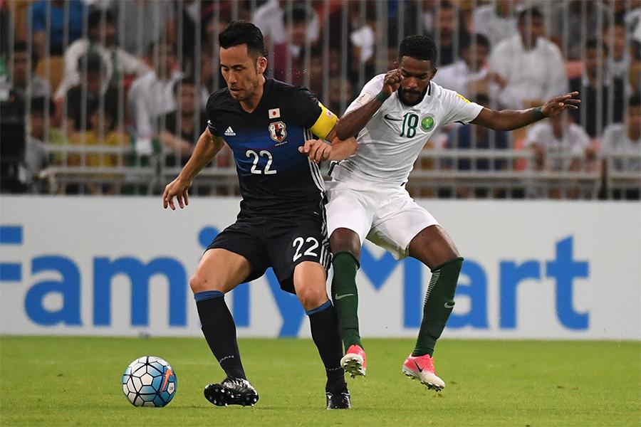 8日にサウジアラビアと対戦する日本代表【写真:Getty Images】