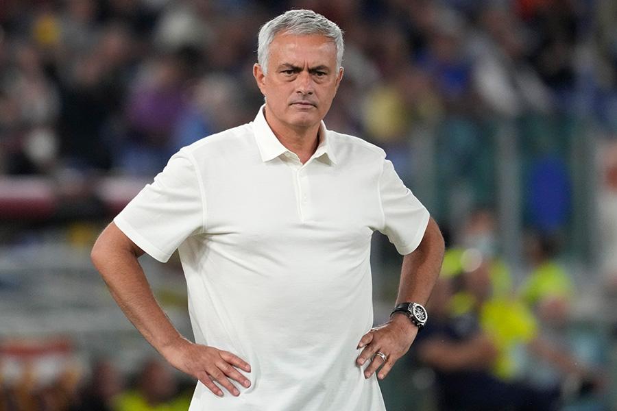 今季からローマを率いるジョゼ・モウリーニョ監督【写真:AP】