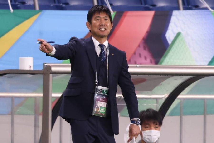 日本代表率いる森保一監督【写真:高橋 学】