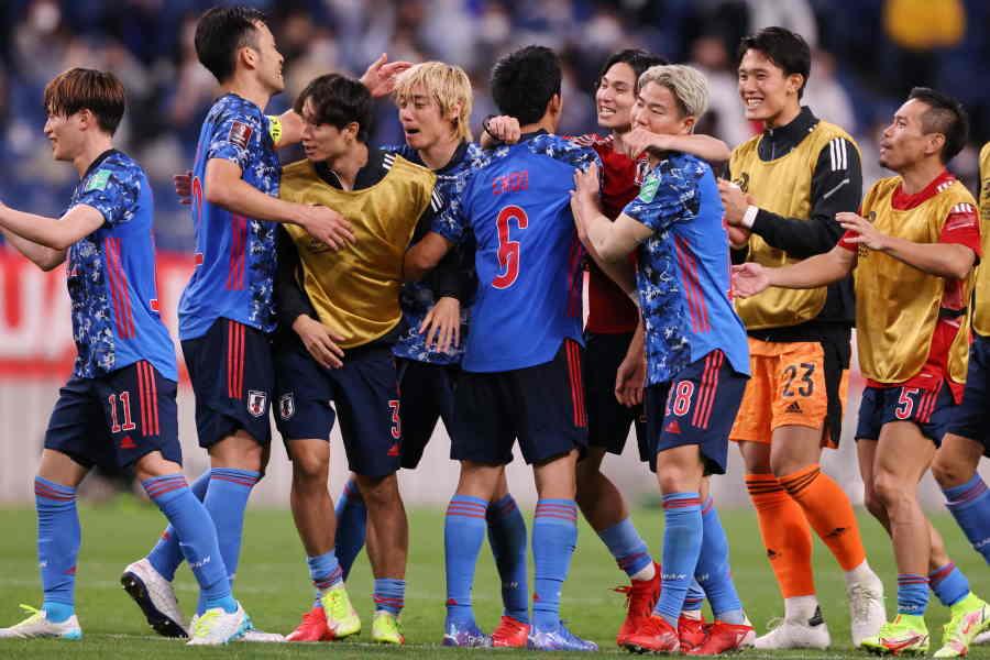 日本はオーストラリア戦で2-1と競り勝った【写真:高橋 学】