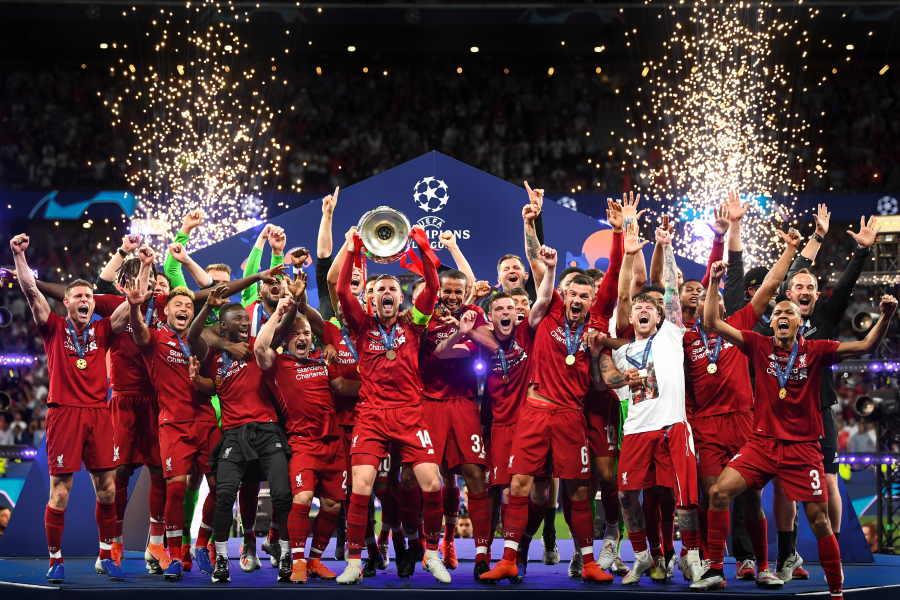 18-19シーズンに欧州制覇したリバプール【写真:Getty Images】