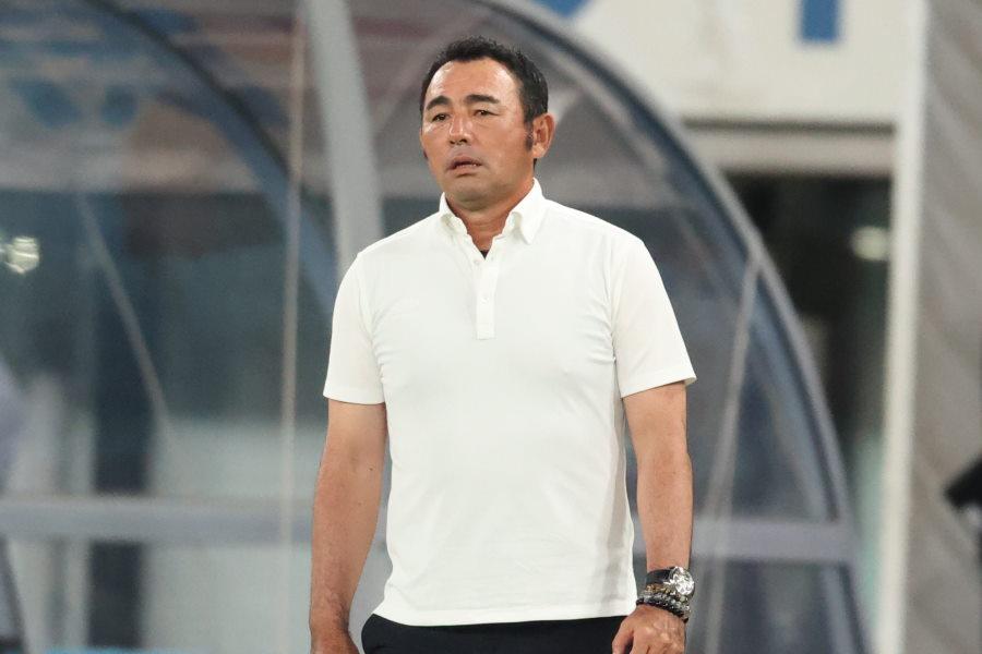 FC東京の長谷川健太監督が試合を振り返る【写真:高橋学】
