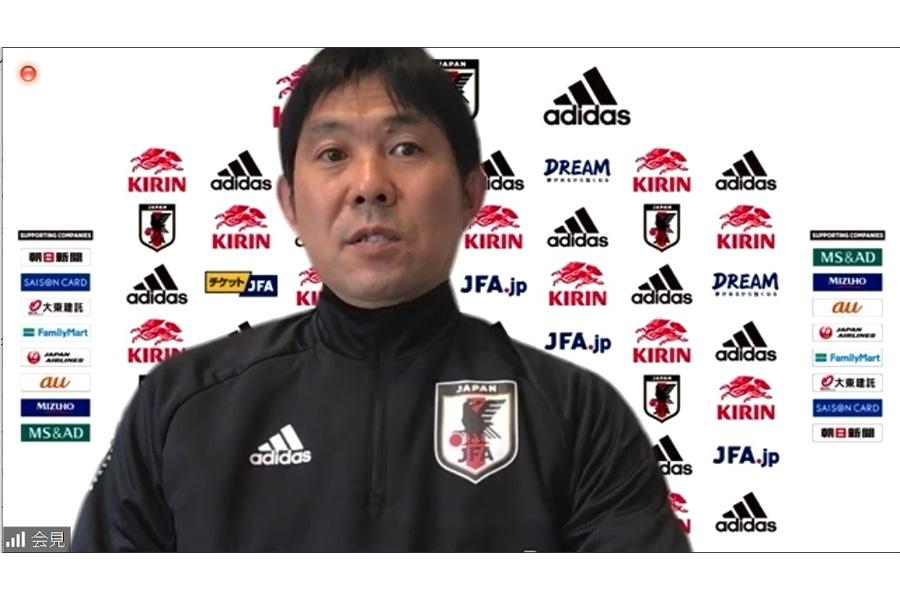 日本代表の森保一監督【※画像はスクリーンショットです】