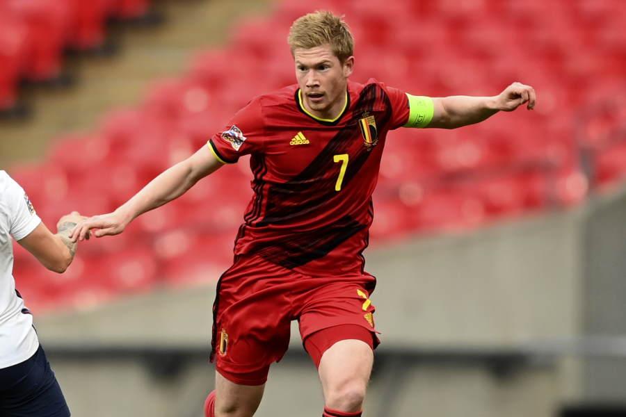 ベルギー代表MFデ・ブライネ【写真:AP】