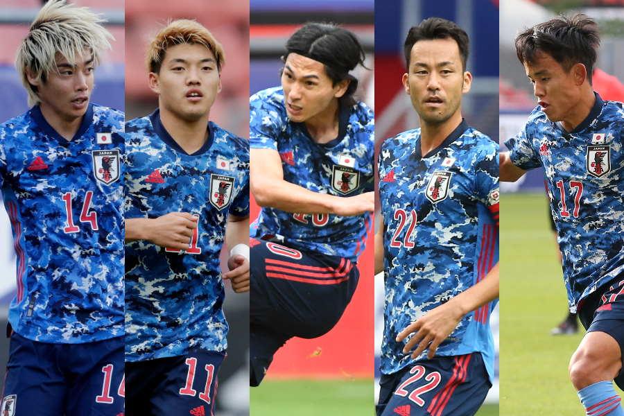 カメルーン戦での日本代表を選手別で採点【写真:Getty Images & ©JFA】