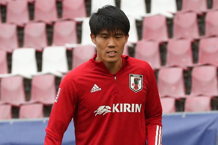 日本代表DF冨安健洋【写真:©JFA】