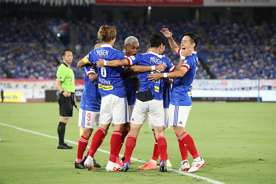 浦和レッズ相手に6得点で大勝した横浜F・マリノス【写真:高橋 学】