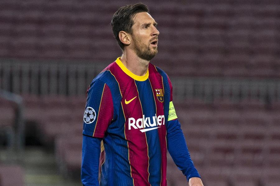 記者に対して苦言を呈したバルセロナFWメッシ【写真:Getty Images】