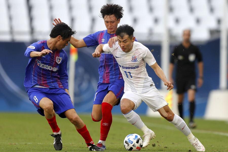 FC東京はPKで先制され、上海申花に敗北【写真:Getty Images】