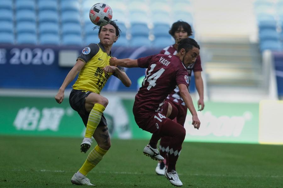 メンバーの多くを入れ替えた神戸は今季ACL初黒星【写真:Getty Images】