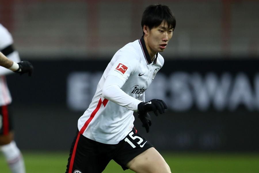 チームを牽引するフランクフルトの日本代表MF鎌田大地【写真:Getty Images】