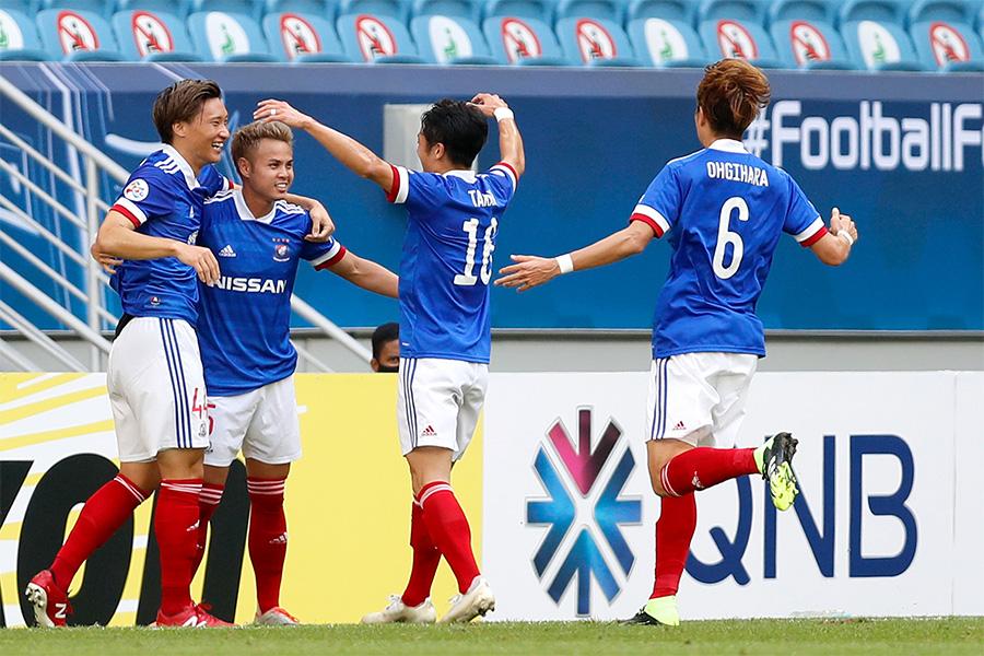 4得点で快勝した横浜F・マリノスが決勝トーナメントに進出!【写真:Getty Images】