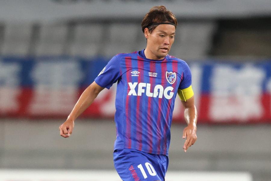 FC東京MF東慶悟【写真:高橋学】