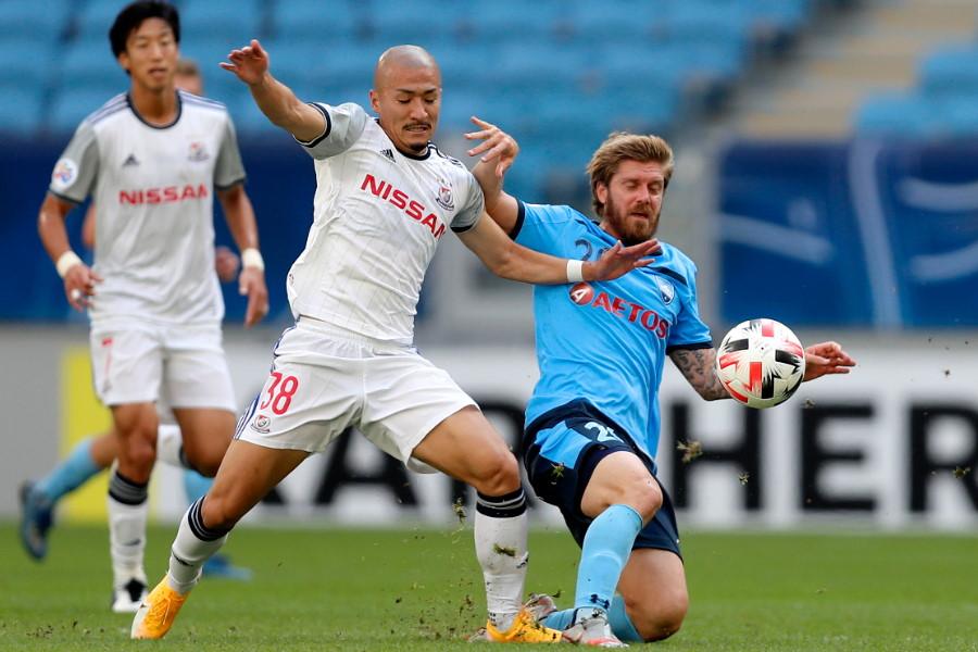 シドニーFCと対戦した横浜FMは1-1で引き分けた【写真:Getty Images】