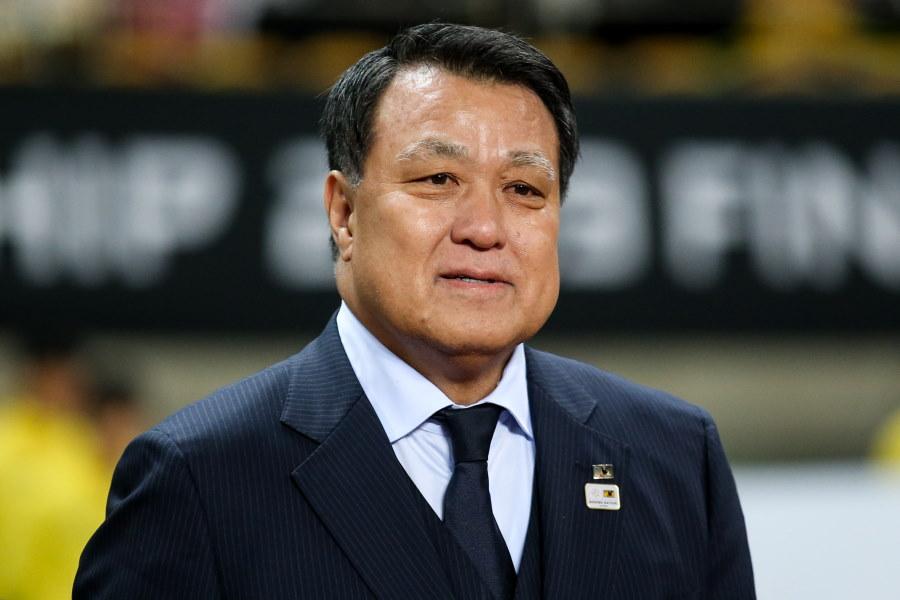 日本サッカー協会の田嶋幸三会長【写真:Getty Images】