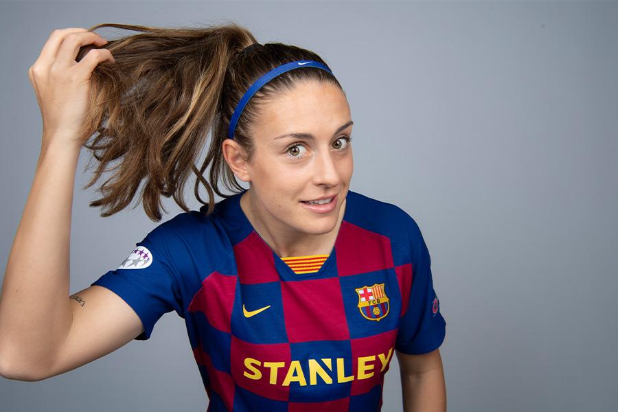 バルセロナの女子チームに所属するMFアレクシア・プテラス【写真:Getty Images】