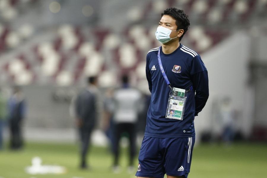 ACL帯同記を執筆した矢野隼平さん。選手とともにカタールで戦い続けた【写真提供:横浜F・マリノス】
