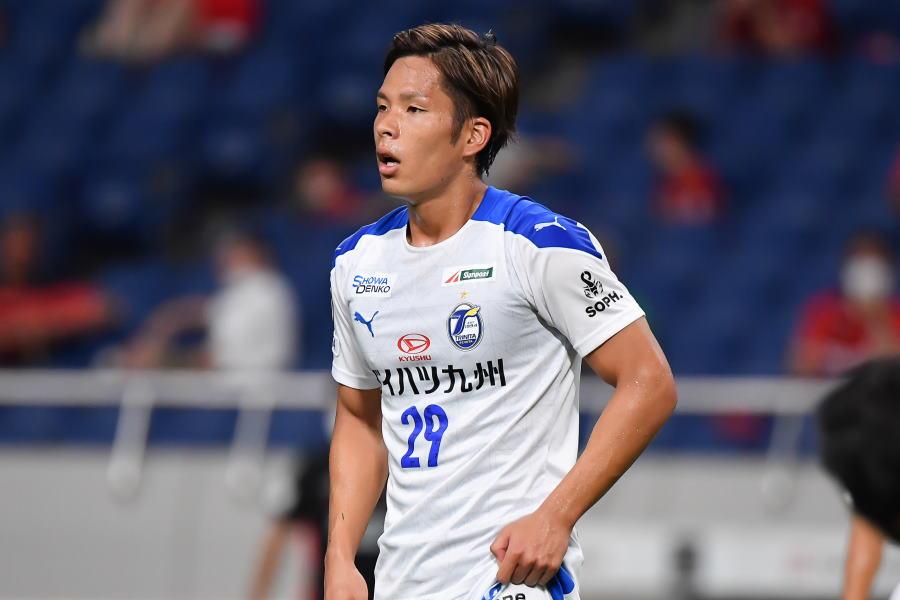 横浜F・マリノスへの移籍が決まったDF岩田智輝【写真:小林 靖】