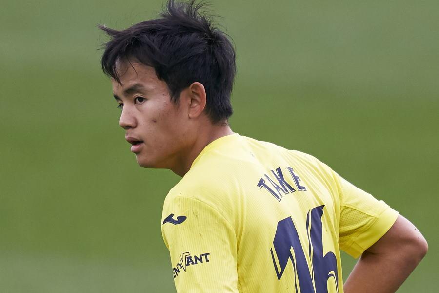 2試合連続の出番なしだったビジャレアルの日本代表MF久保建英【写真:Getty Images】
