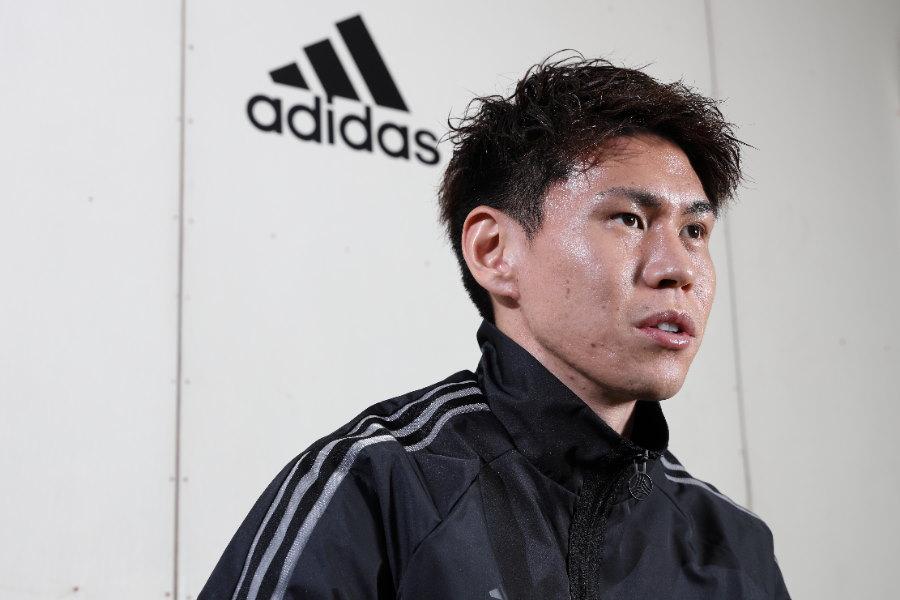 FC東京の日本代表MF橋本拳人【写真:高橋学】