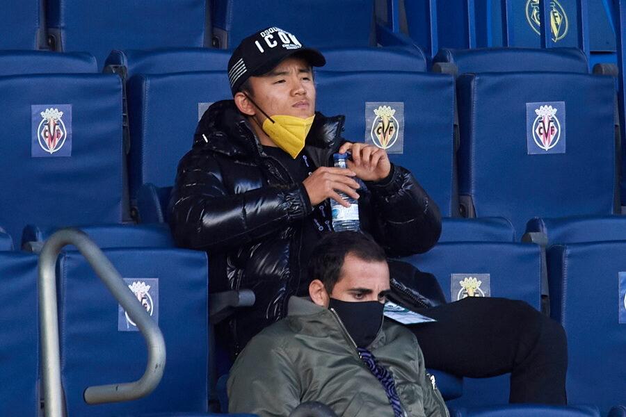 ビジャレアルで構想外の日本代表MF久保建英【写真:Getty Images】