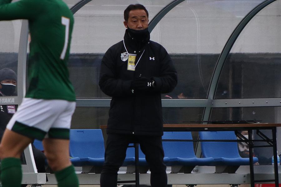 青森山田高校の黒田剛監督【写真:Football ZONE web】