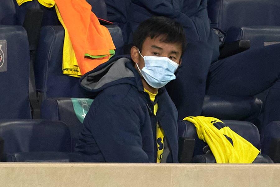 退団濃厚なビジャレアルの日本代表MF久保建英【写真:Getty Images】
