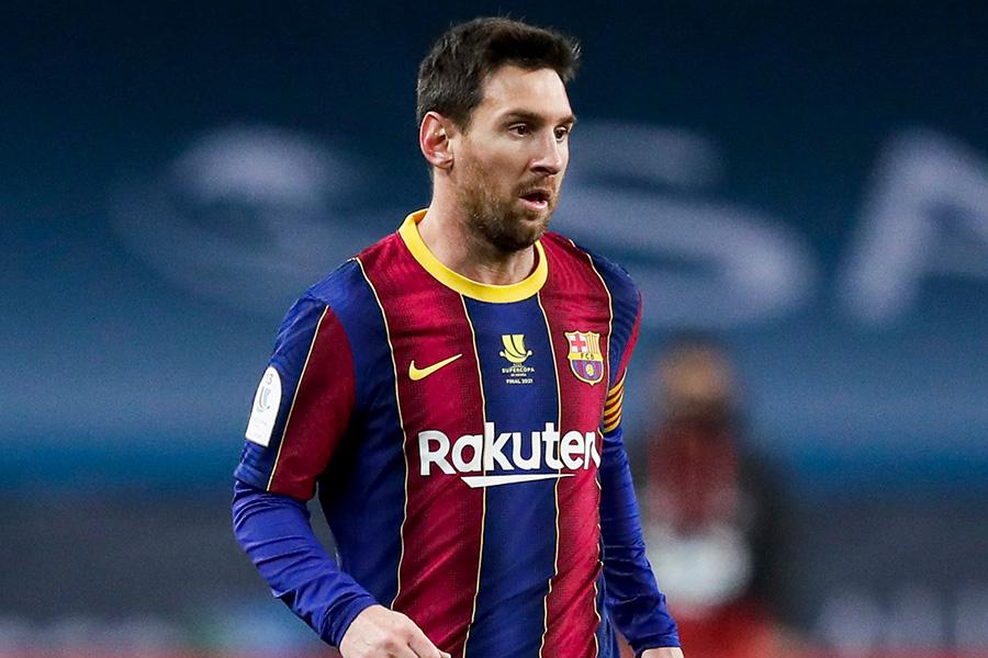 バルセロナでプレーするFWリオネル・メッシ【写真:Getty Images】
