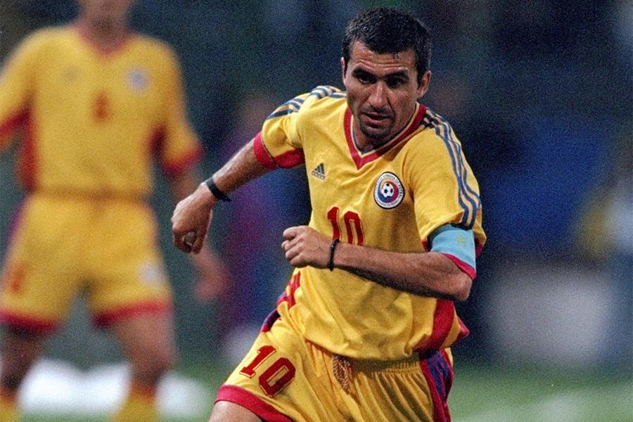 ルーマニアの英雄的存在であるMFゲオルゲ・ハジ【写真:Getty Images】