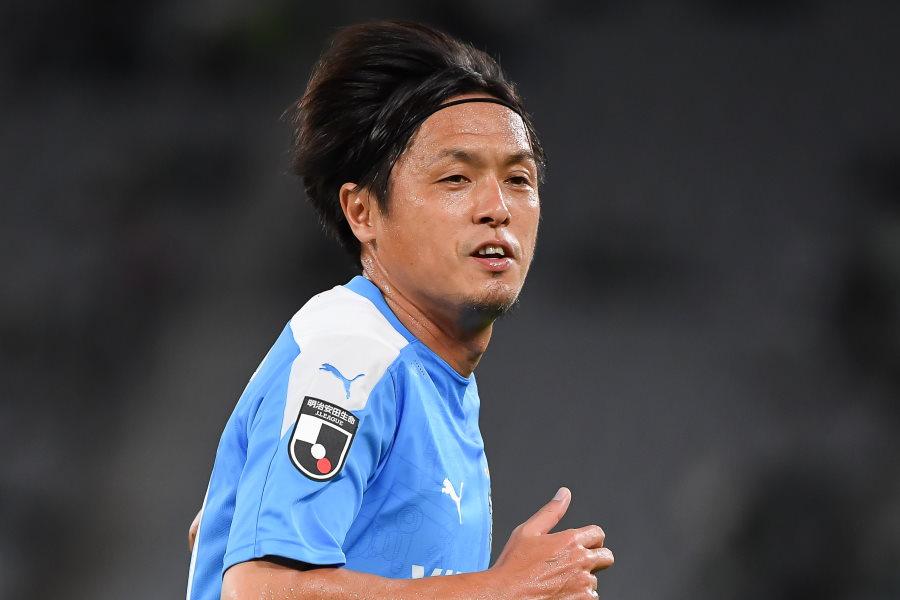 磐田在籍2シーズン目の元日本代表MF遠藤保仁(※写真は昨シーズンのもの)【写真:小林 靖】
