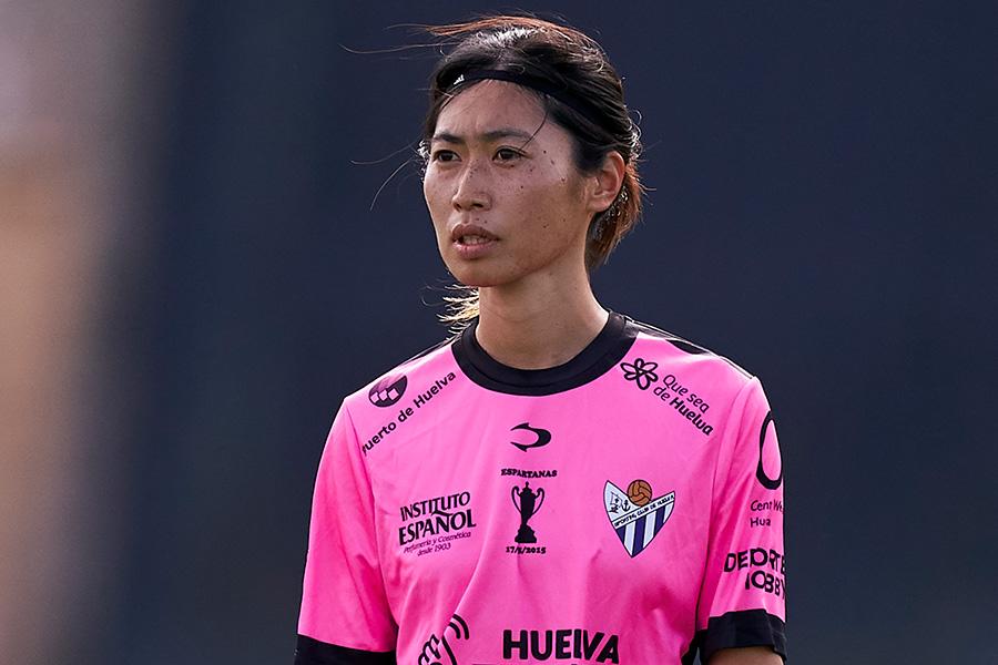スペイン女子1部スポルティング・ウエルバのMF田中陽子【写真:Getty Images】
