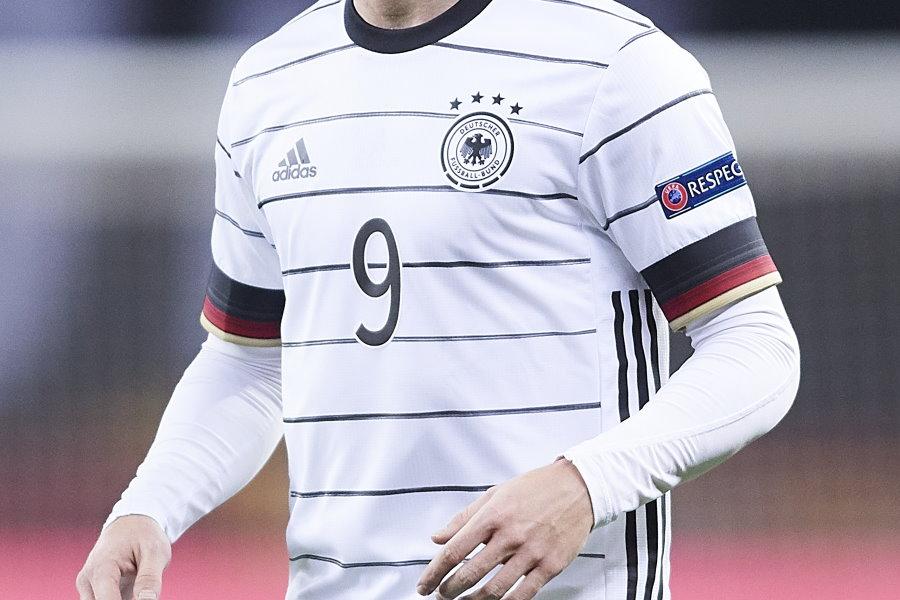 EURO2020に向けたドイツ代表の新ユニフォームが話題(※写真は昨年のもの)【写真:Getty Images】