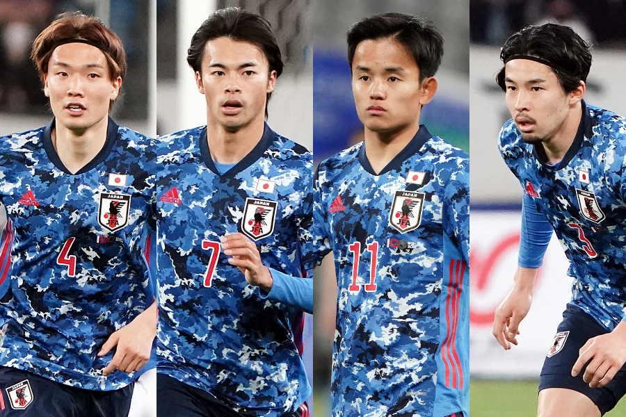0-1で敗れたU-24日本代表【写真:Getty Images】