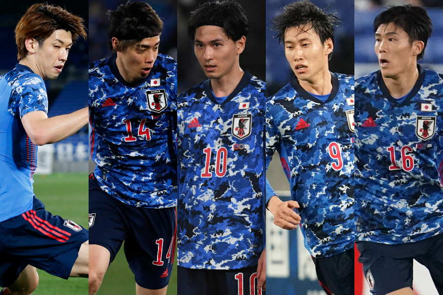 金田喜稔氏が全17選手を5段階で評価した【写真:Getty Images & AP】