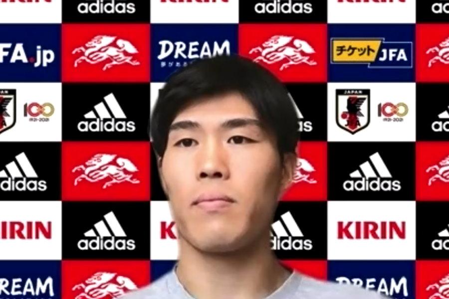 日本代表DF冨安健洋(ボローニャ)【※画像はスクリーンショットです】