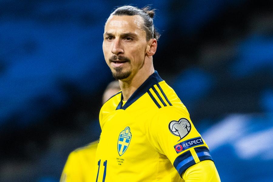スウェーデン代表FWズラタン・イブラヒモビッチ写真:Getty Images】