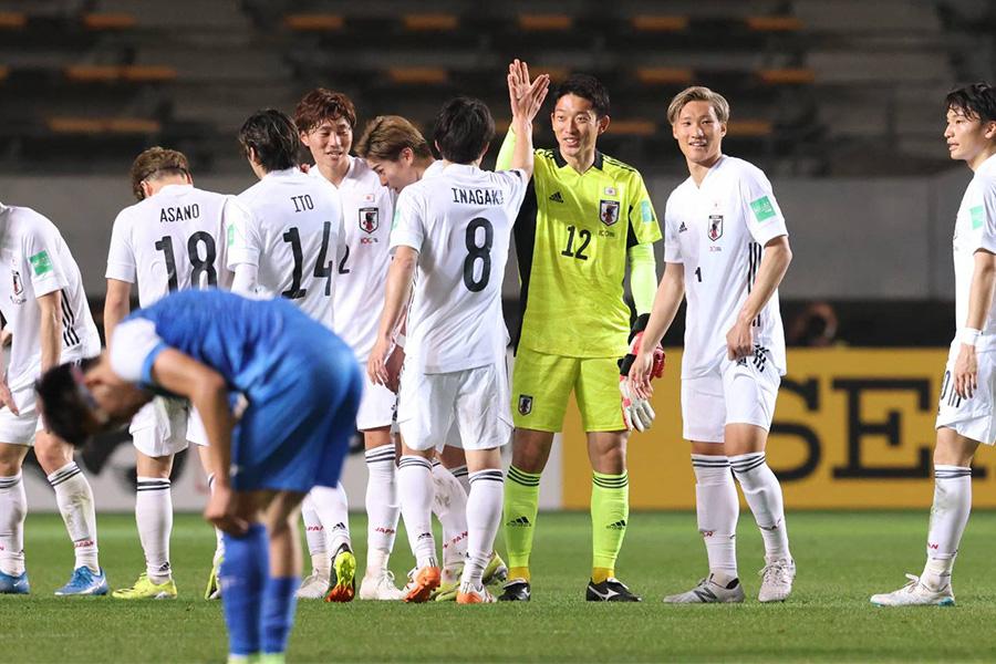 モンゴル戦を大勝で終えた日本代表の3月シリーズを総括【写真:高橋 学】