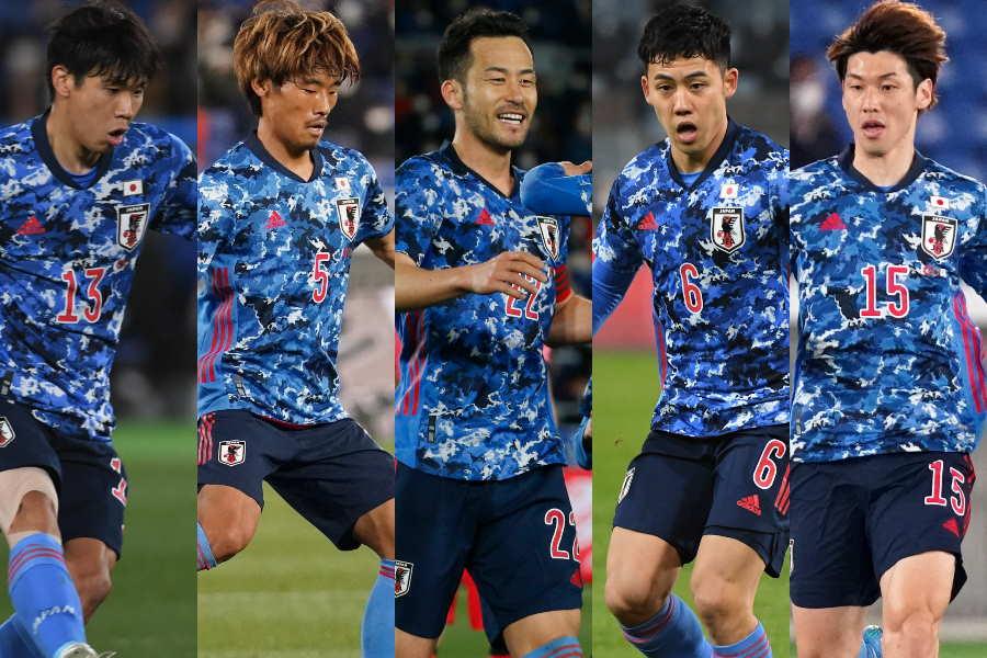 韓国戦の日本代表各選手のパフォーマンス分析【写真:Getty Images & ©JFA & AP】