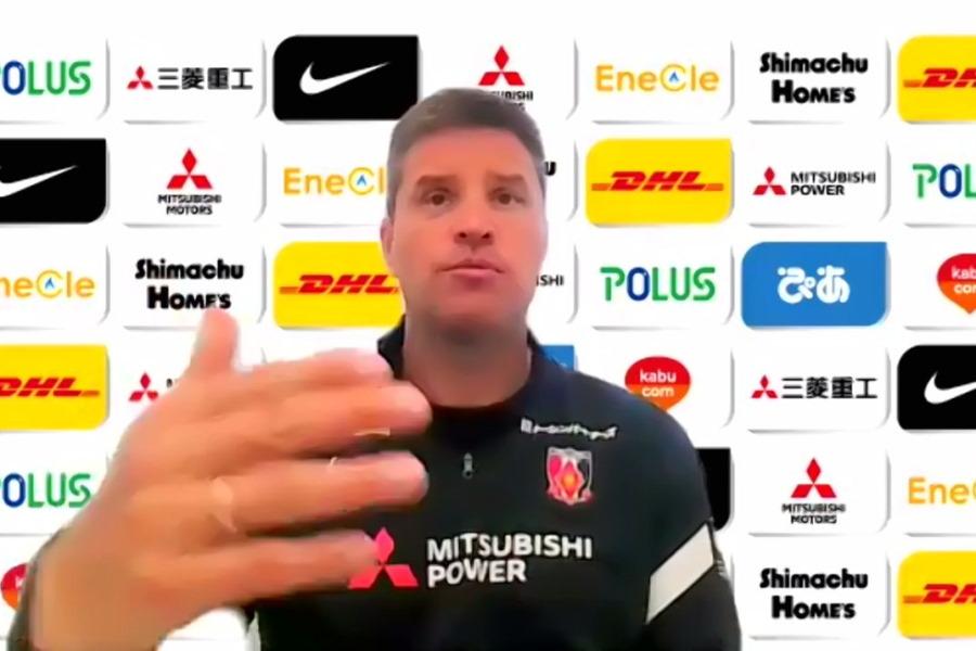 浦和のリカルド・ロドリゲス監督が古巣対戦へ意気込み【※画像はスクリーンショットです】