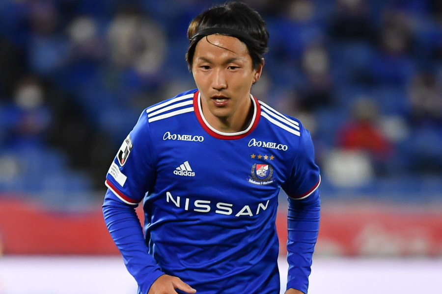 海外メディアも賛辞を送っているプレーを披露した横浜FMのMF天野純【写真:小林 靖】