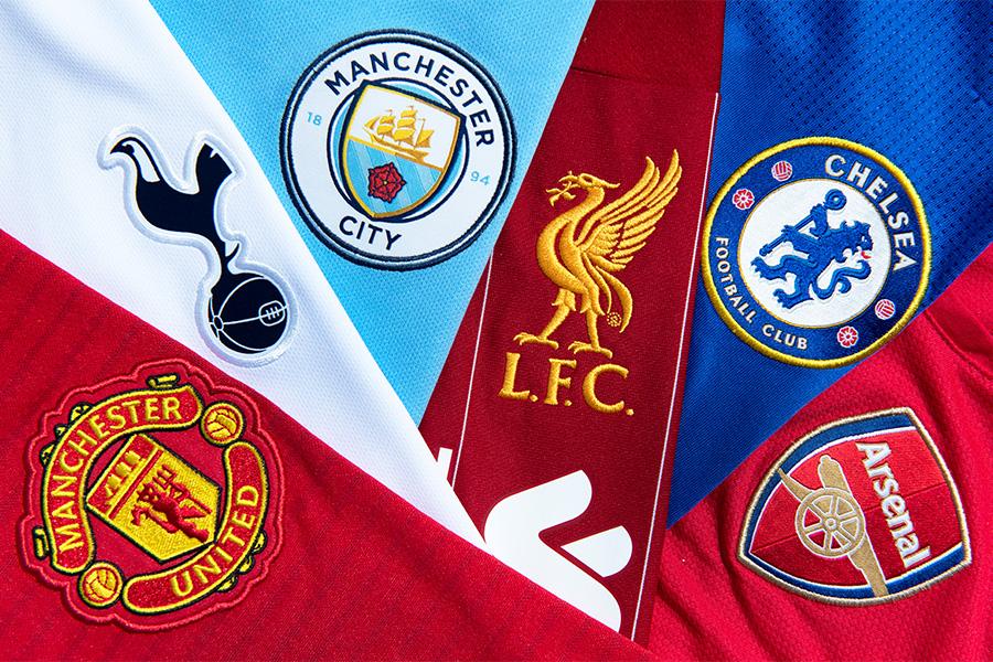 欧州スーパーリーグに参加表明しているプレミアリーグの6クラブ【写真:Getty Images】