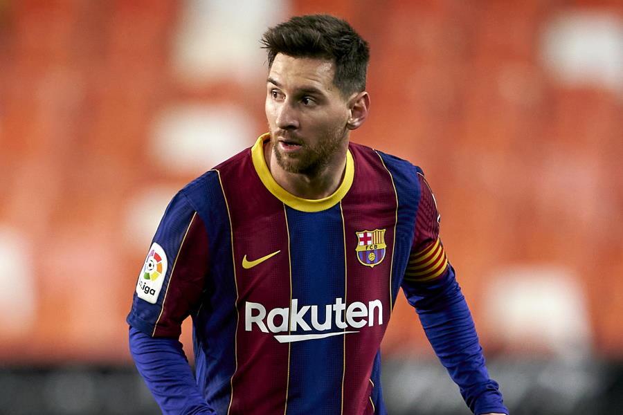 メッシがバルサ通算50本目の直接FKによるゴールで勝利に貢献【写真:Getty Images】
