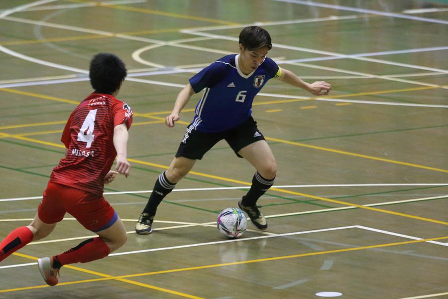 U-20フットサル日本代表でキャプテンを務め、フル代表にも初招集された毛利元亮【写真:河合 拓/Futsal X】