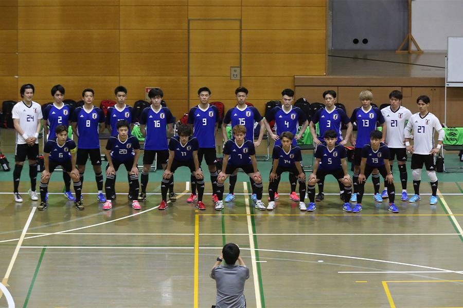 U-20フットサル日本代表候補トレーニングキャンプの実施が決定【写真:河合 拓/Futsal X】