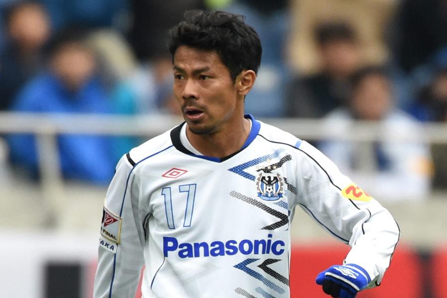 G大阪でプレーした元日本代表MF明神智和(※写真は2015年のもの)【写真:Getty Images】