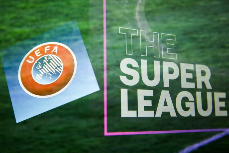 UEFAが欧州スーパーリーグから撤退を表明しない3クラブに対し最後通告を行った【写真:Getty Images】