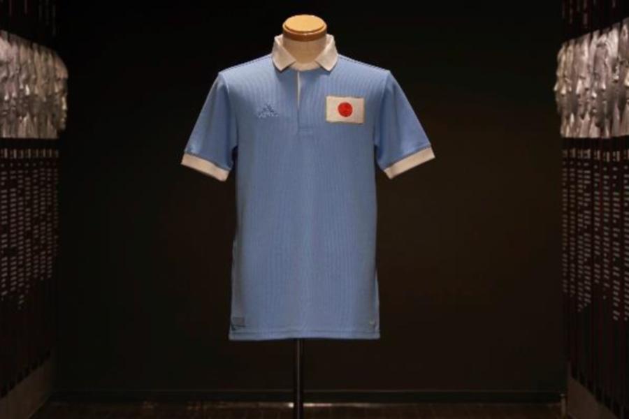 日本代表が100周年記念ユニフォーム発表【提供:アディダスジャパン】