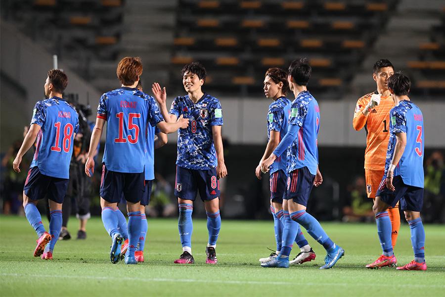 ミャンマー相手に10得点を奪った日本代表の選手たち【写真:高橋 学】
