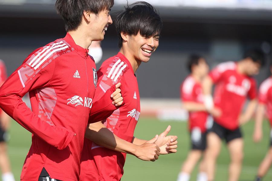 U-24日本代表MF三笘薫【写真:河合 拓】