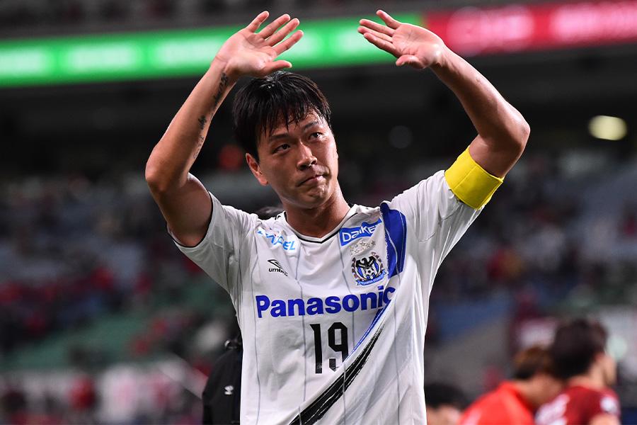 2019年からガンバ大阪でプレーするDFキム・ヨングォン【写真:Getty Images】